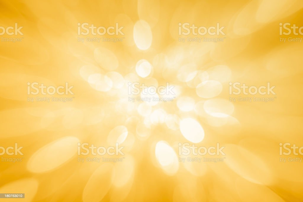 Blurred yellow background stock photo