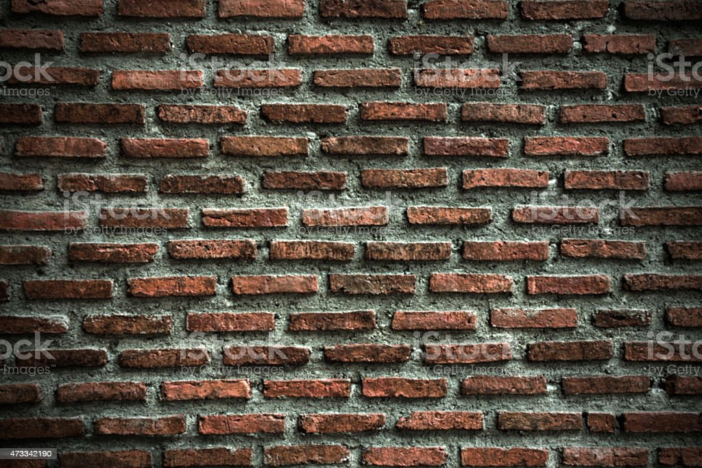Blurry background - grunge brick wall royalty-free stock photo