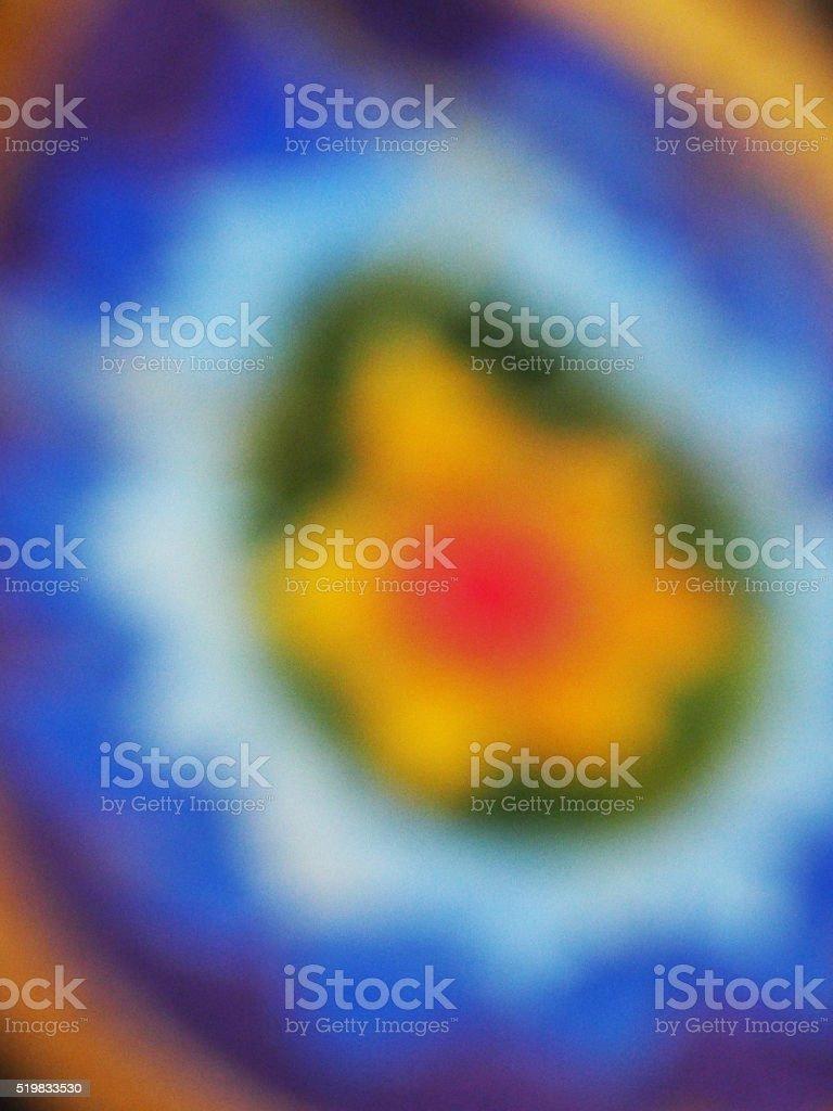 Flou ornement indien photo libre de droits