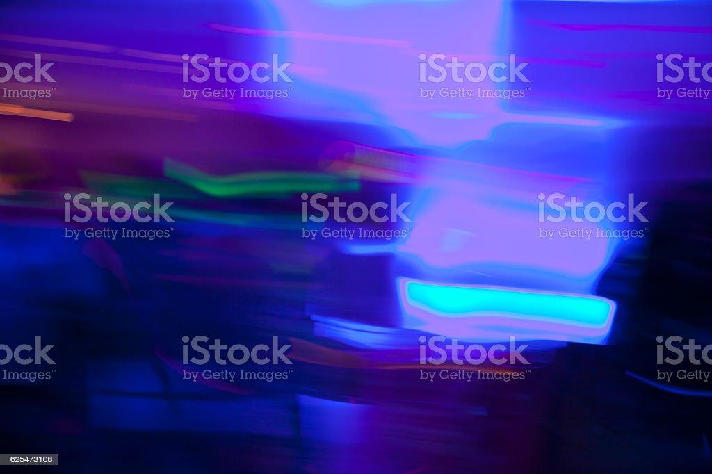 Blurry lights. stock photo
