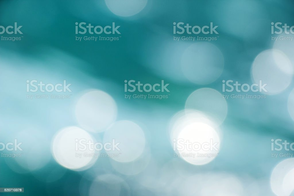 blurry sunlight spot on ocean stock photo