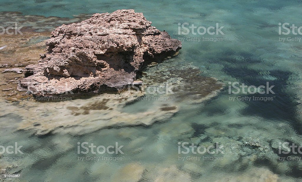 Blurry Water royalty-free stock photo
