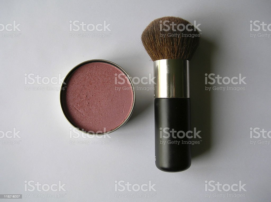 Blush and brush royalty-free stock photo