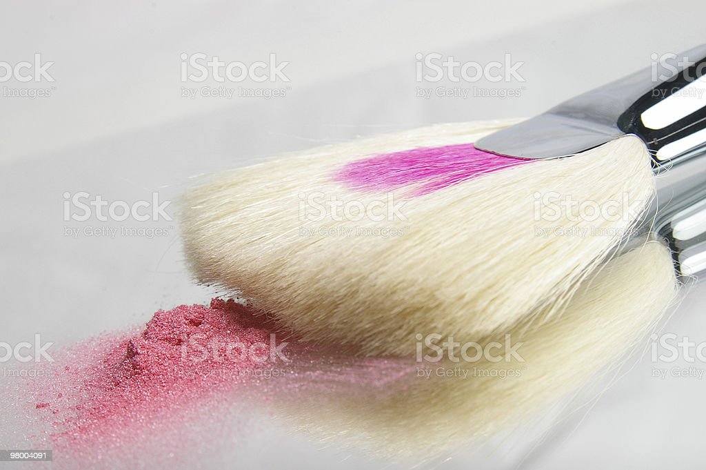 Blush Brush royalty-free stock photo