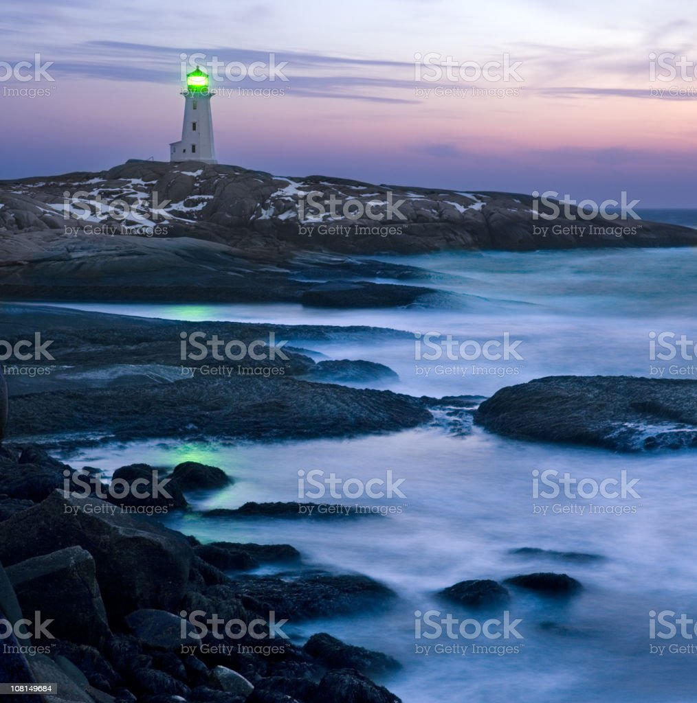 Blustery Twilight royalty-free stock photo