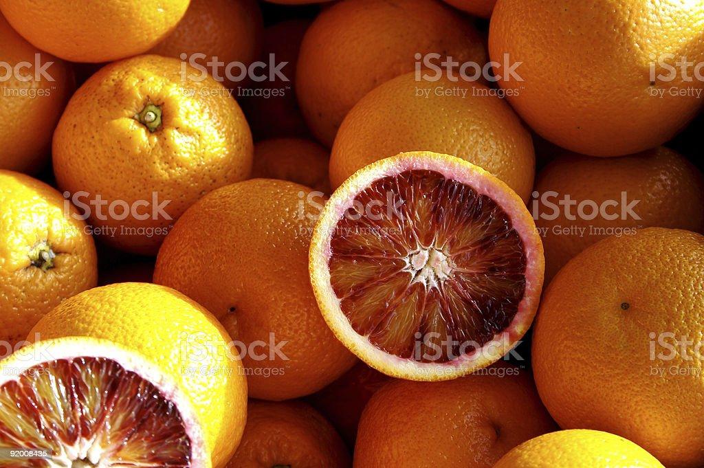 Blutorangen,Orange stock photo