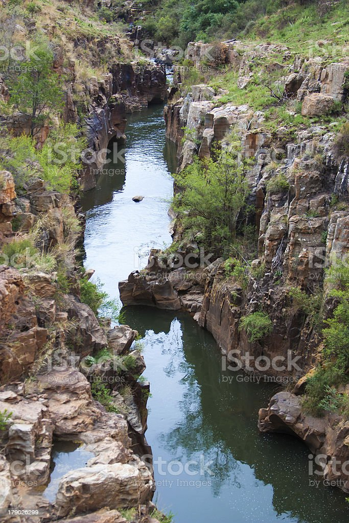 Blyde River Canyon,South Africa, Mpumalanga royalty-free stock photo