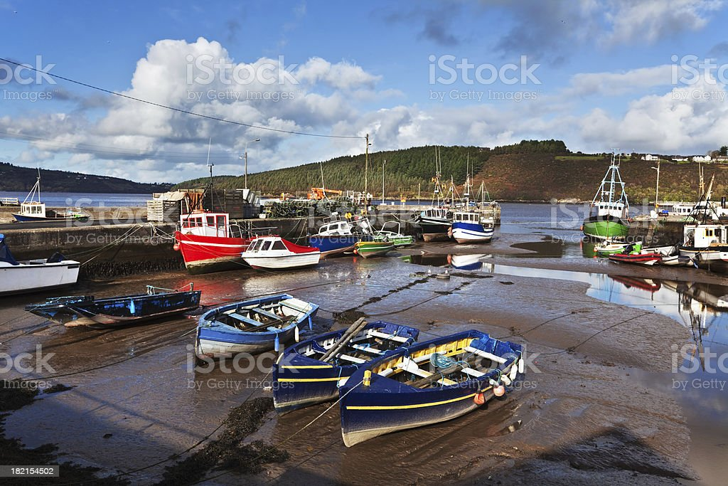 Blyne Quay at Passage East, County Waterford, Ireland stock photo