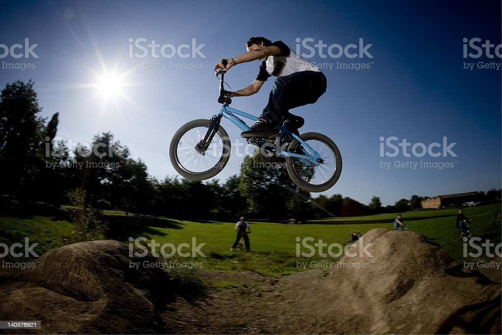bmx02 royalty-free stock photo