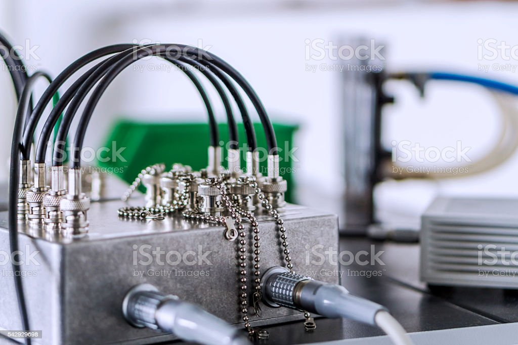 BNC-Cable stock photo