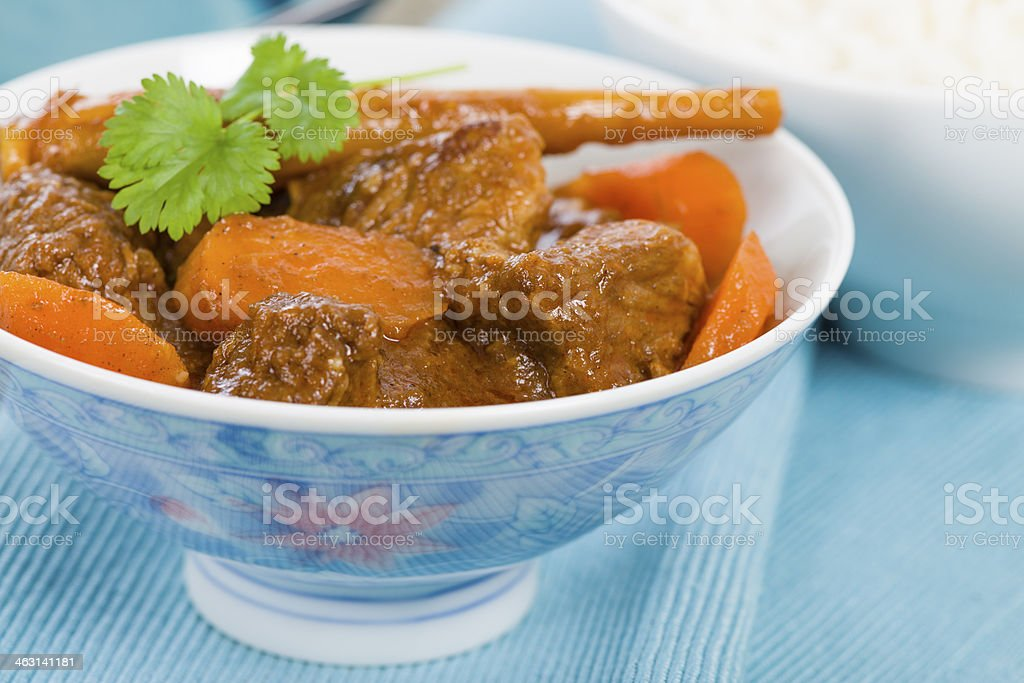 Bo Kho stock photo