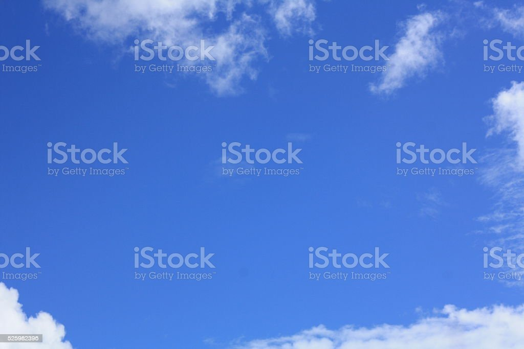 Boadrering clouds stock photo