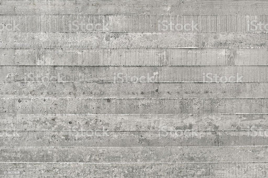 Board Formed Concrete stock photo