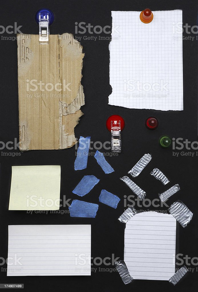 Board Interface royalty-free stock photo