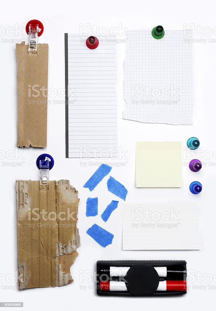 board Interface royalty-free stock photo