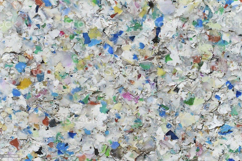Board aus recycling-Kunststoff – Foto