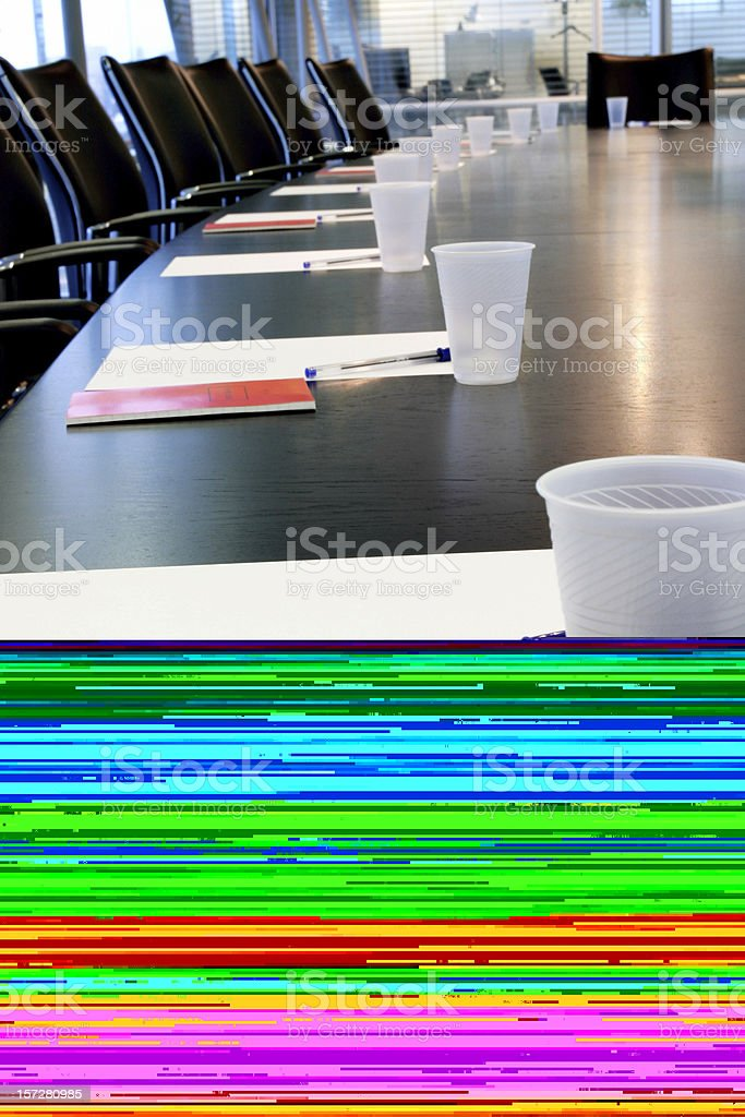 Board meeting royalty-free stock photo
