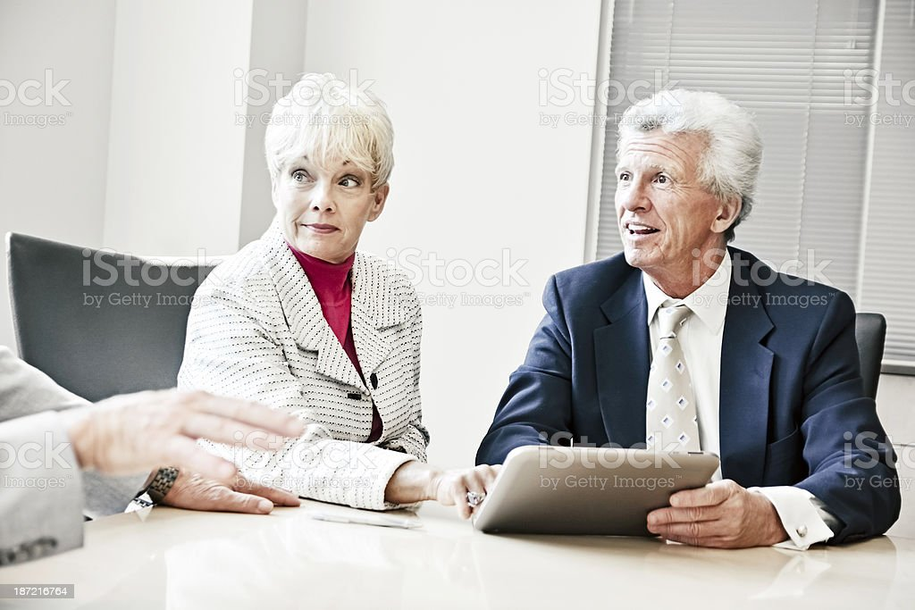 Board meeting. royalty-free stock photo