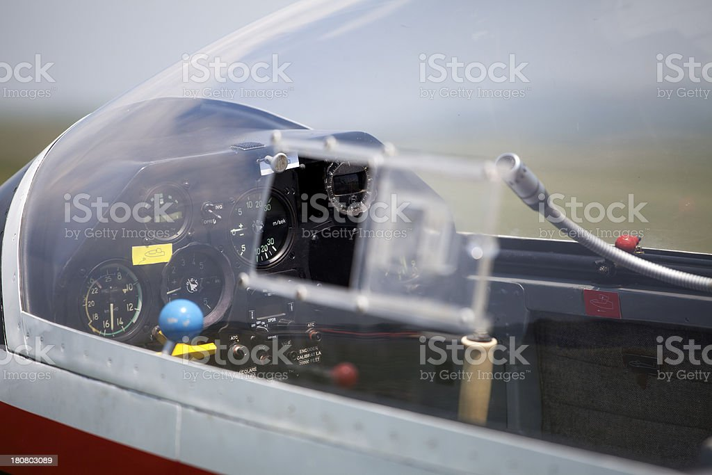 board of airplane royalty-free stock photo