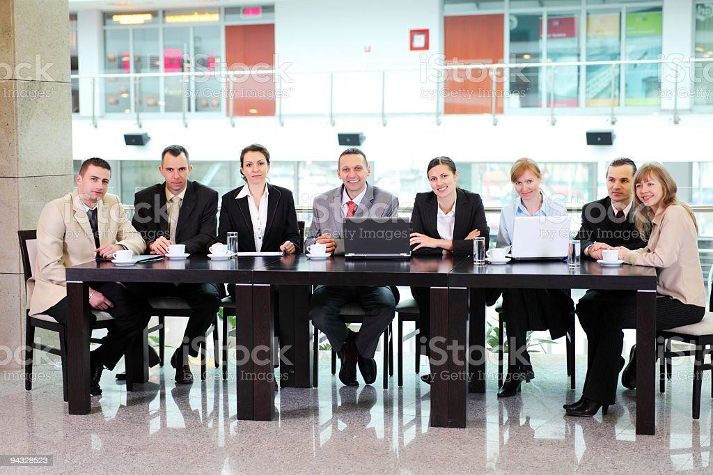 Board of directors. royalty-free stock photo