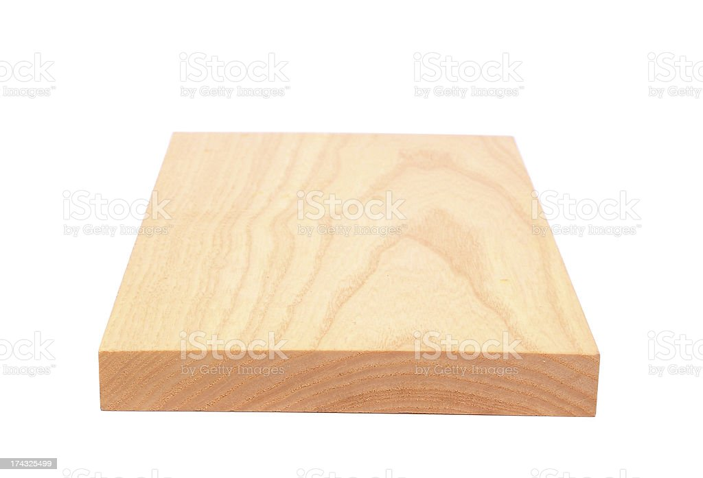Board of elm royalty-free stock photo