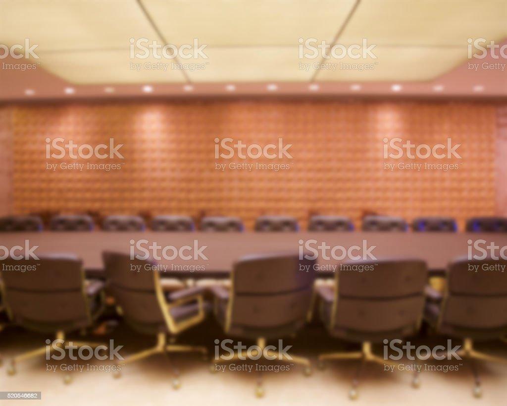 Board Room Blur stock photo