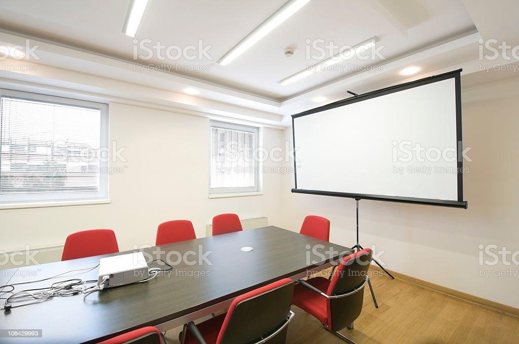 Board room. royalty-free stock photo