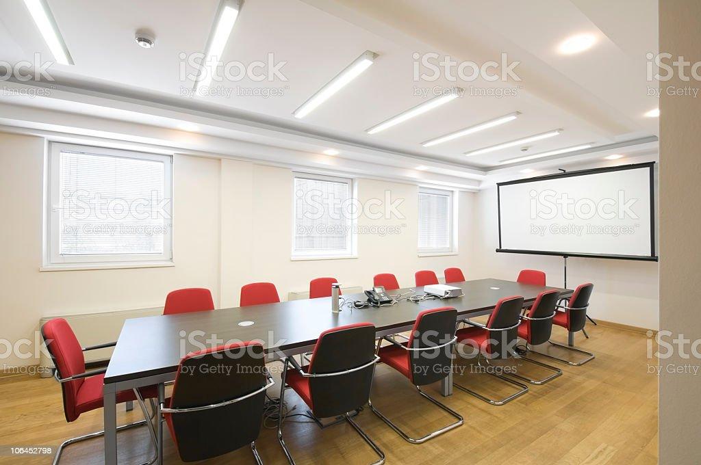 Board room. stock photo