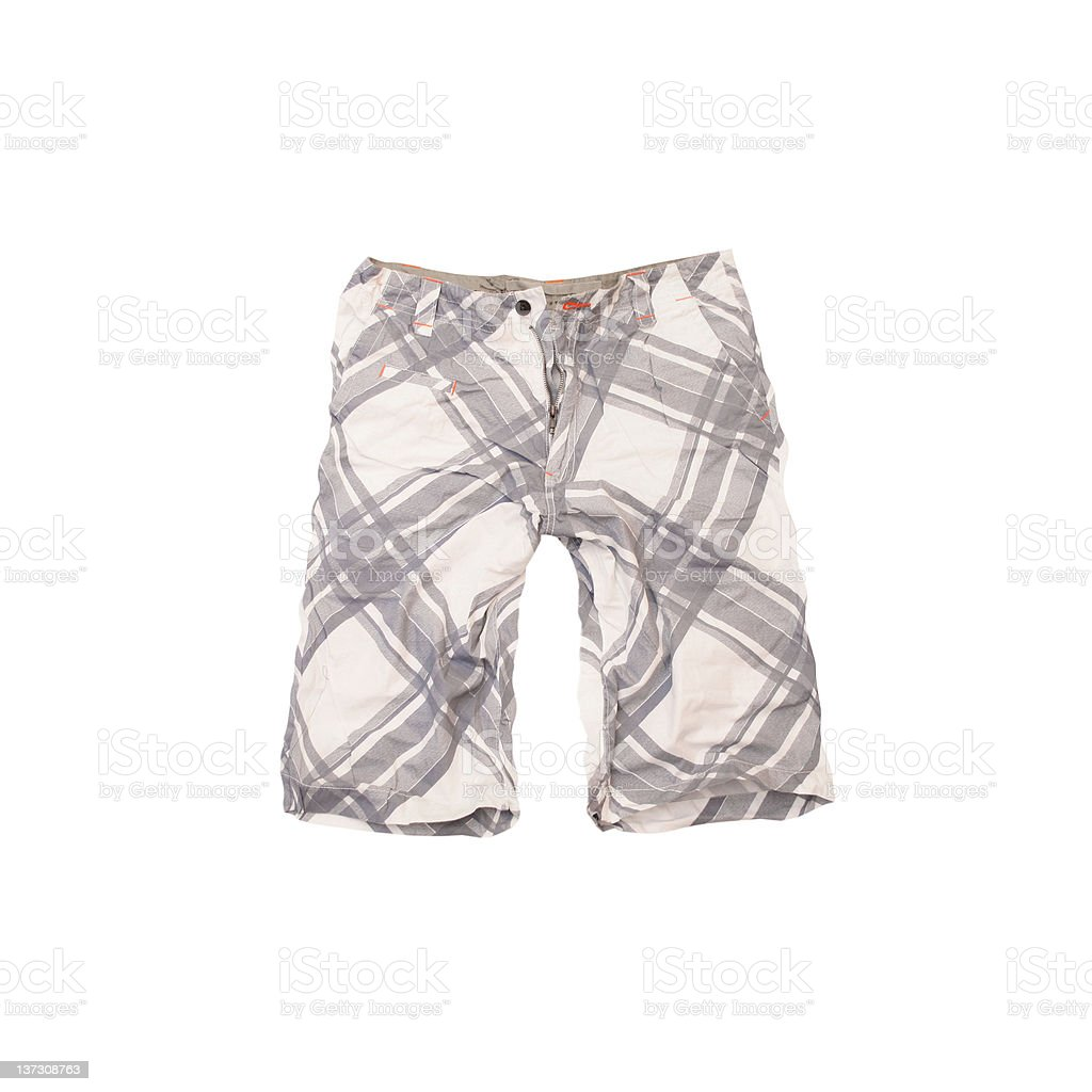 Board Shorts With Zipper Fly royalty-free stock photo