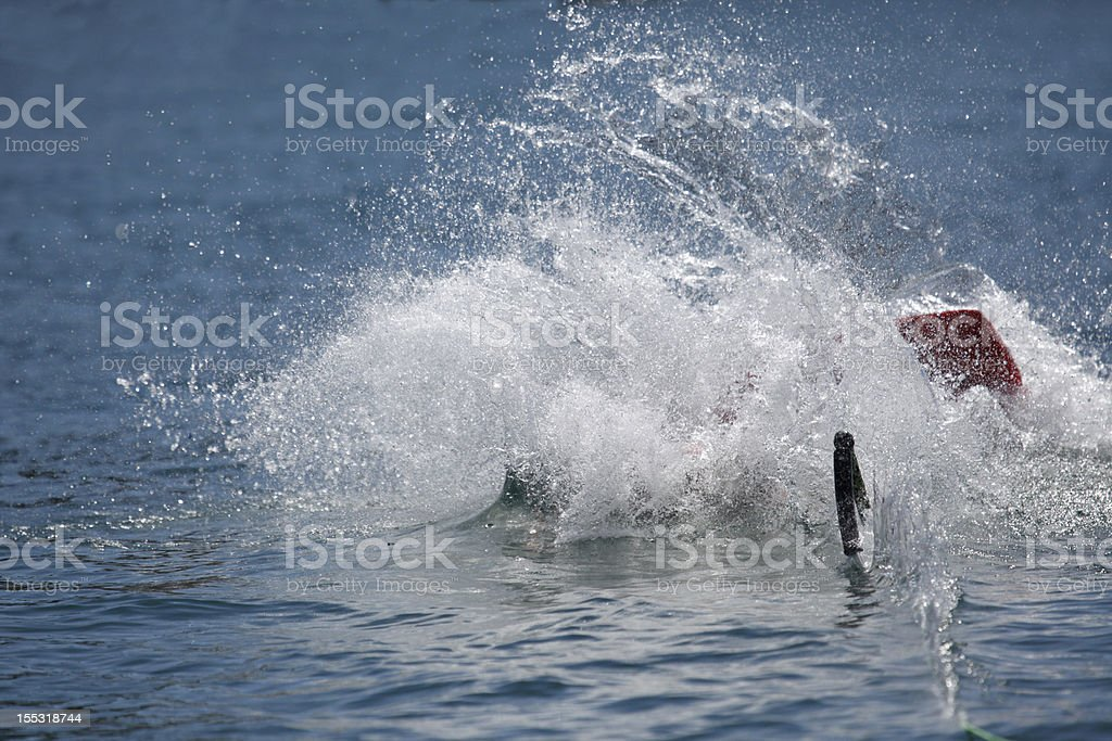 Board Splash royalty-free stock photo