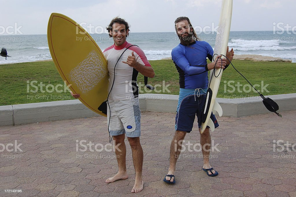 Board Surfing royalty-free stock photo