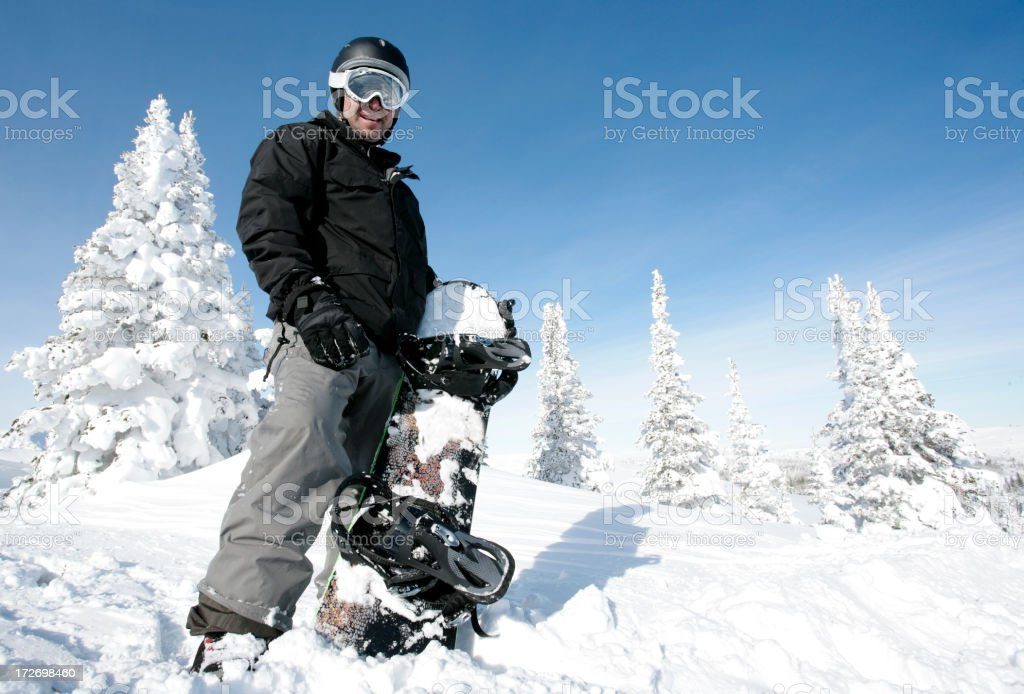 Boarder Dude royalty-free stock photo