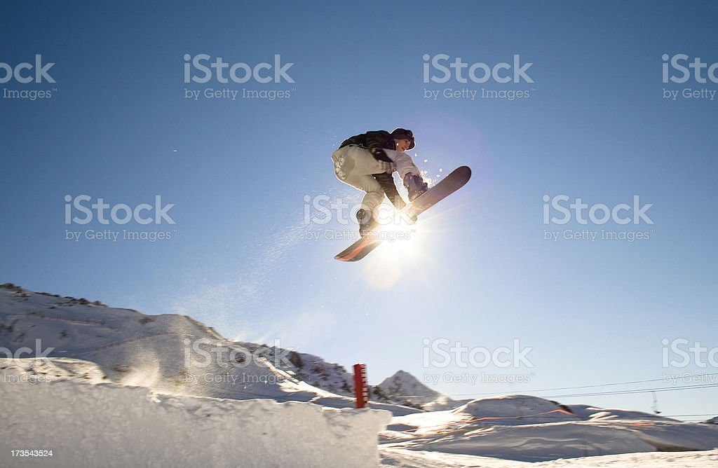 Boarder x royalty-free stock photo