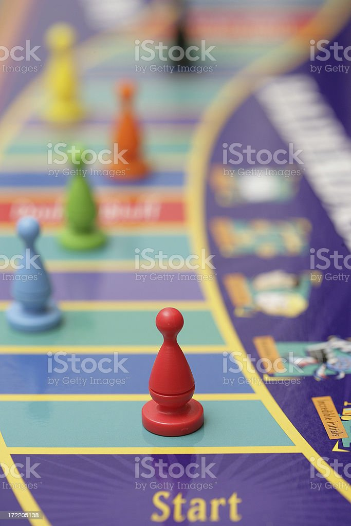 Boardgame Pieces royalty-free stock photo