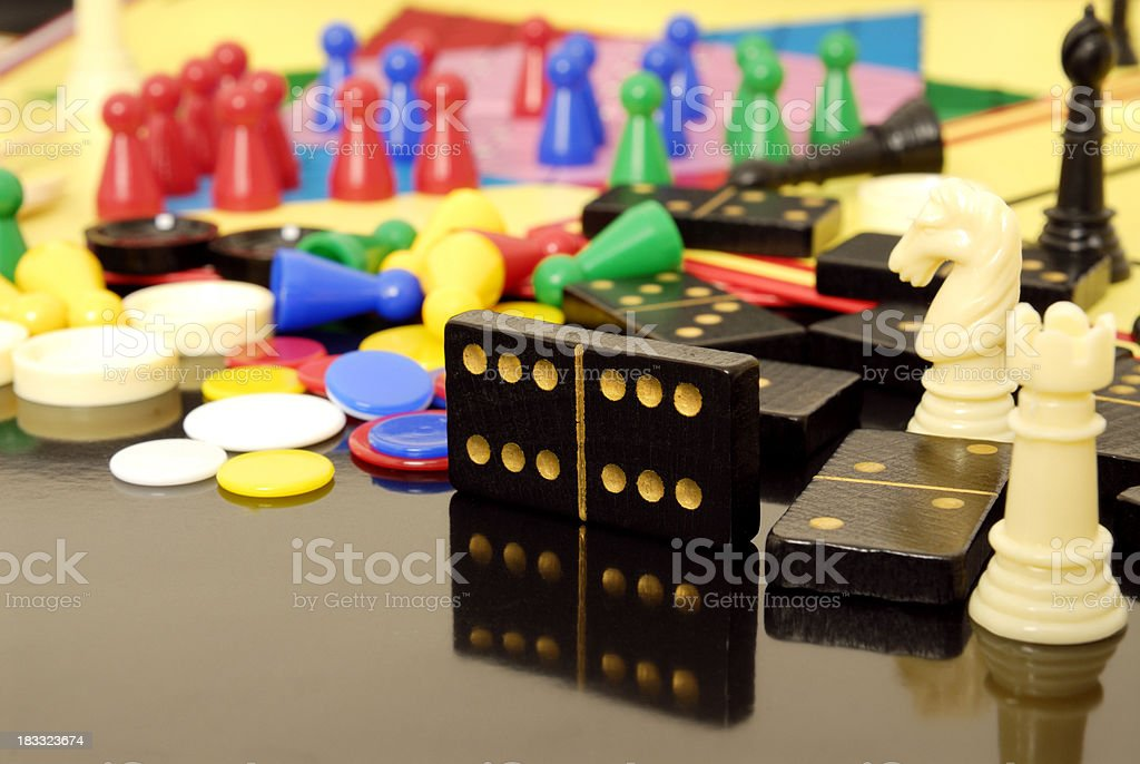 boardgames stock photo
