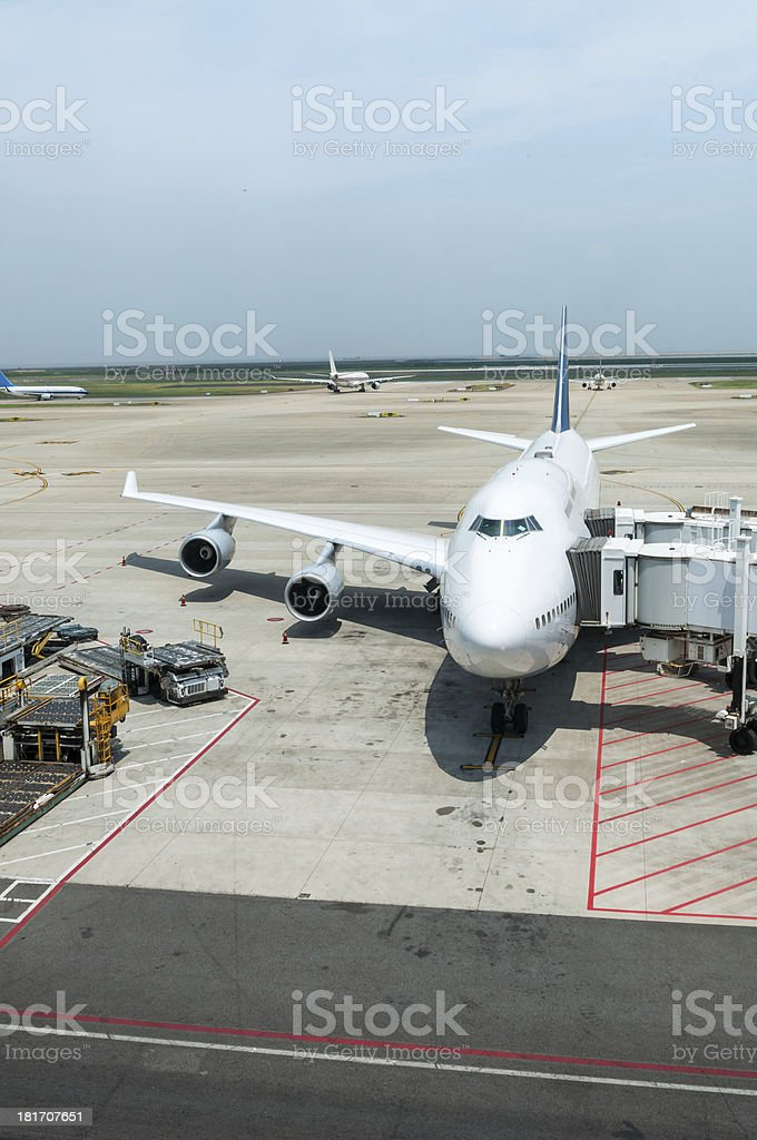 Boarding Call royalty-free stock photo