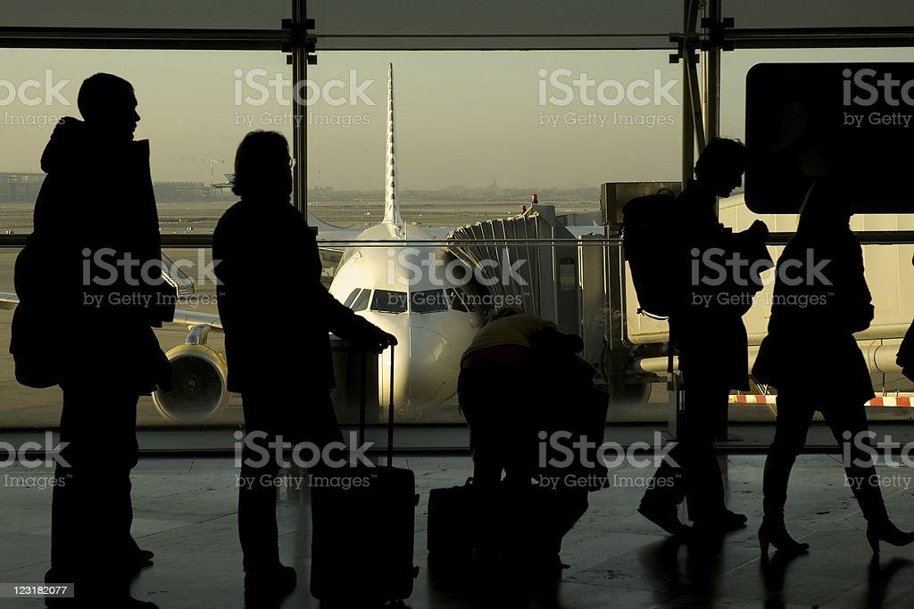 boarding royalty-free stock photo