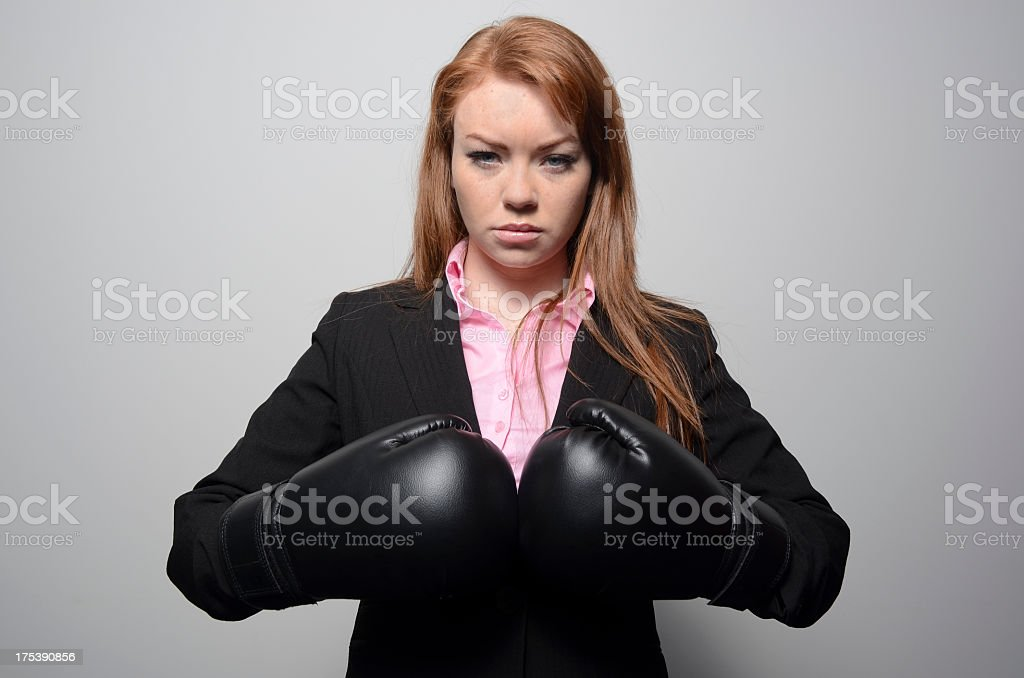 Boardroom battle royalty-free stock photo