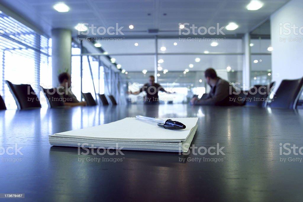 Boardroom despair royalty-free stock photo