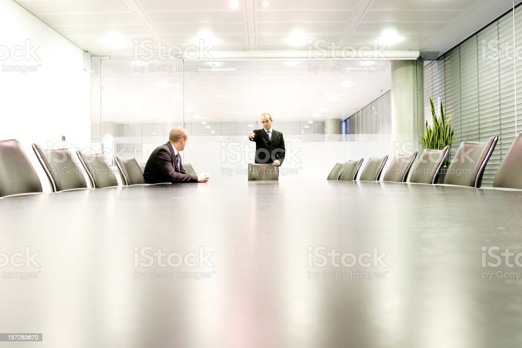 Boardroom meet 1 stock photo