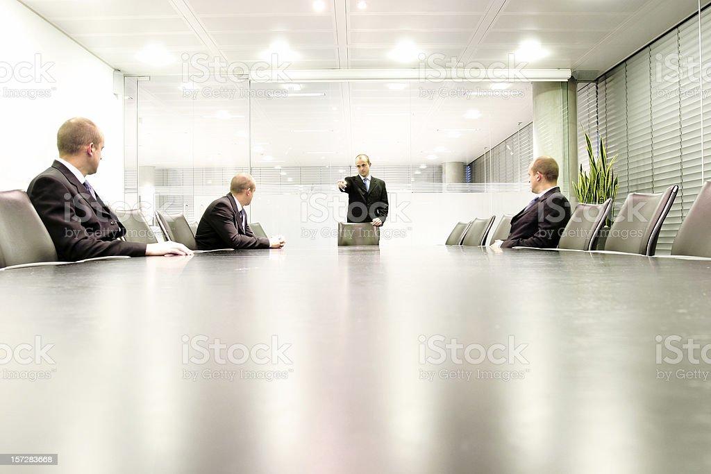 Boardroom meet 3 royalty-free stock photo