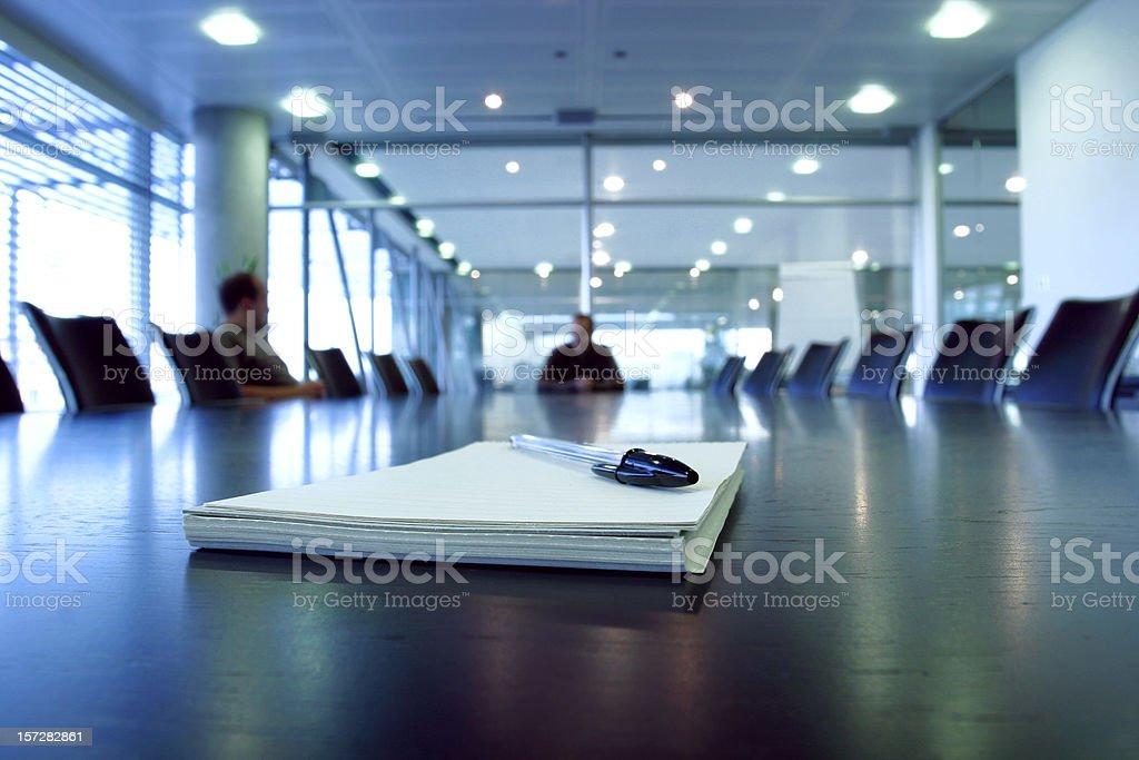 Boardroom meeting royalty-free stock photo