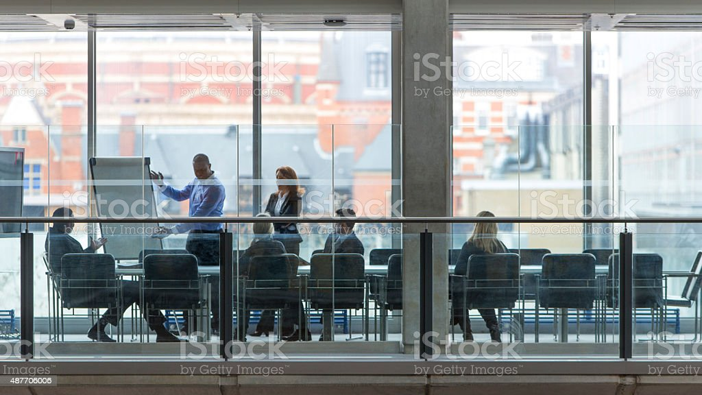 Boardroom Meeting stock photo