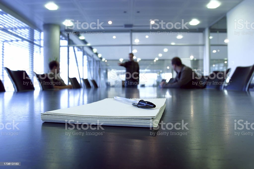 Boardroom point royalty-free stock photo