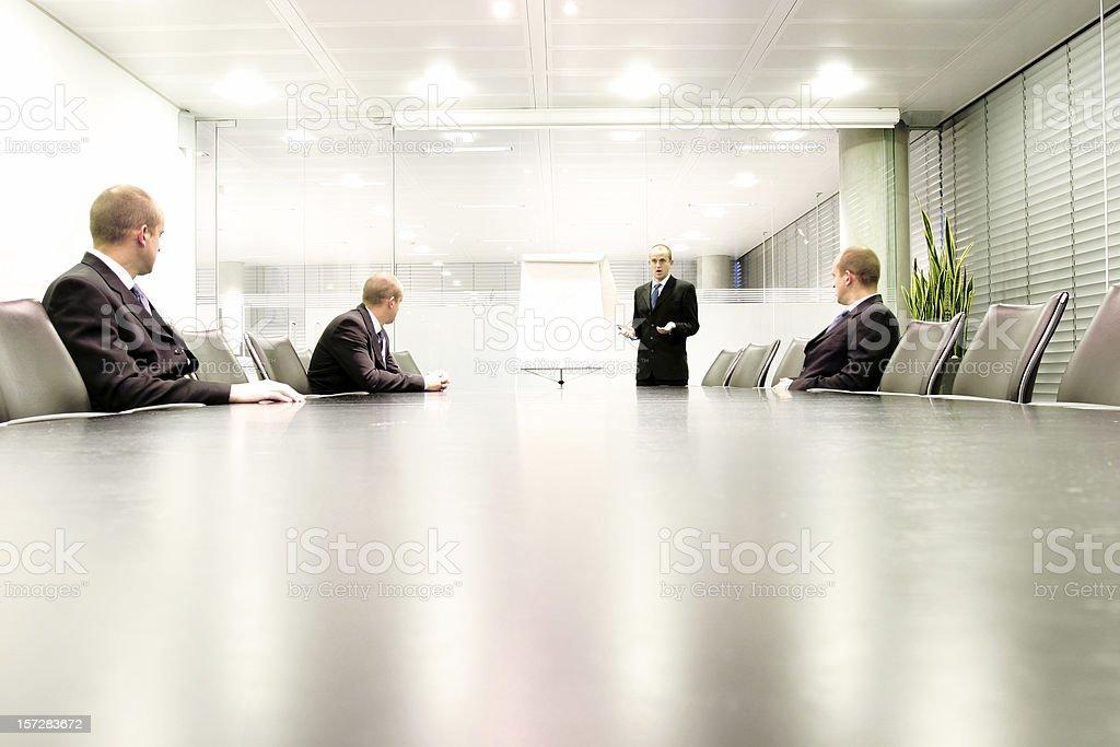 Boardroom presentation royalty-free stock photo