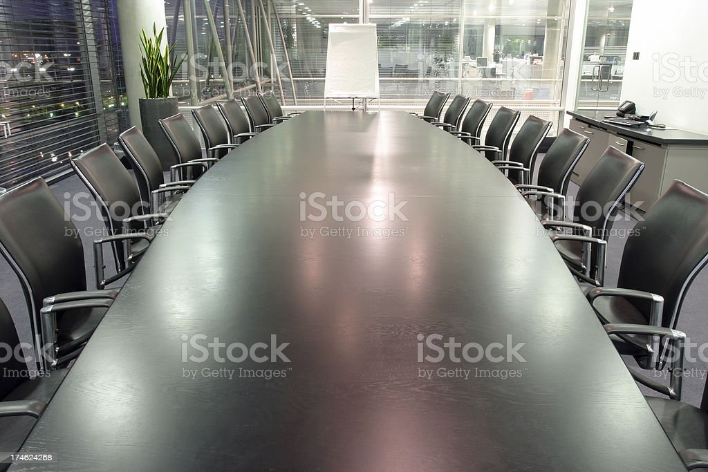 Boardroom presentation royalty-free stock photo
