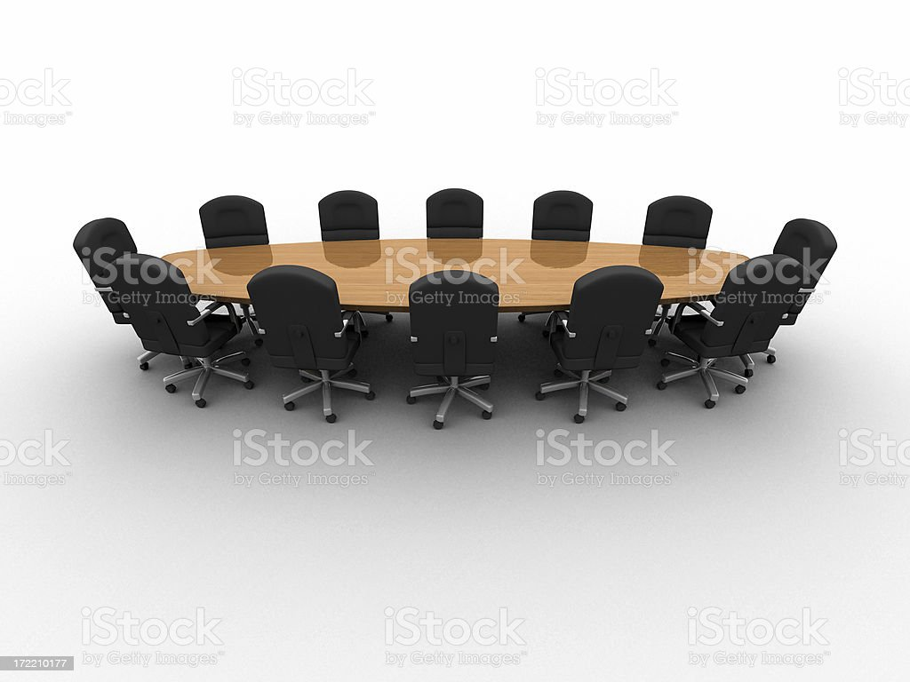 Boardroom Series 03 royalty-free stock photo