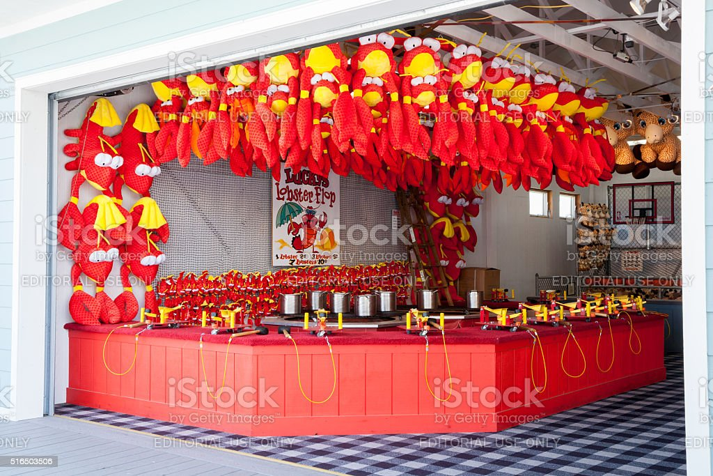 Boardwalk Games - Lobster Flop stock photo