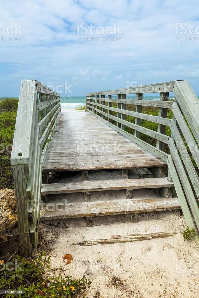 Boardwalk royalty-free stock photo
