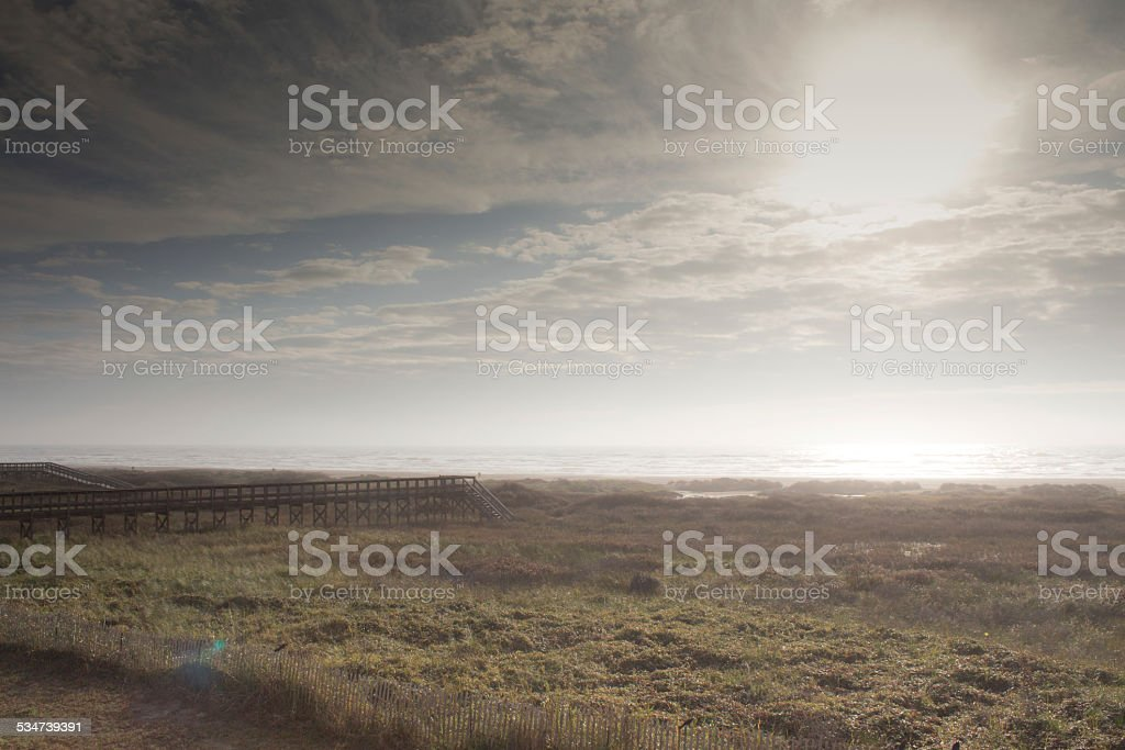 Boardwalk to the Beach royalty-free stock photo
